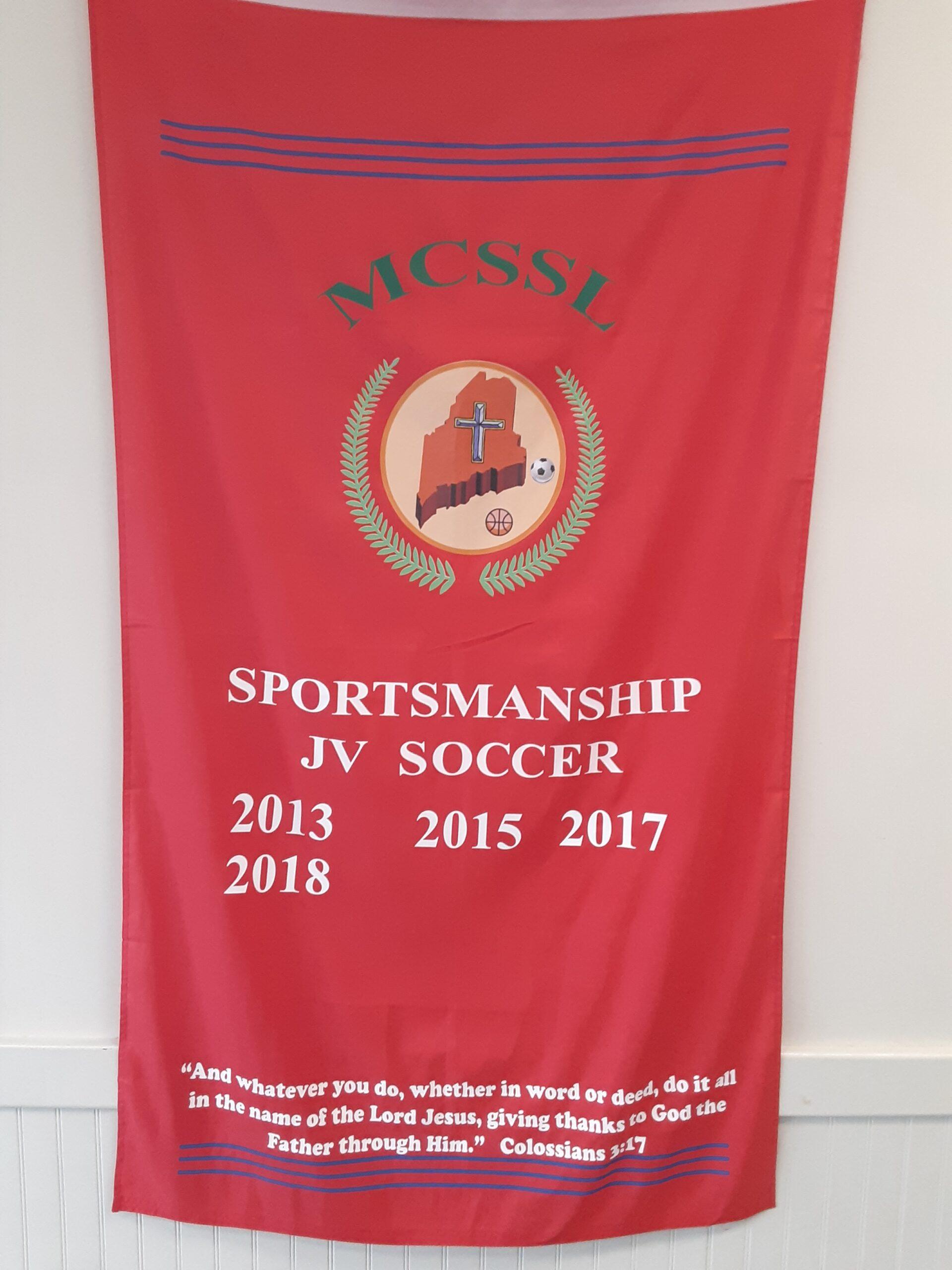 Athletics Soccer award